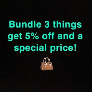 Bundle items or make me an offer!